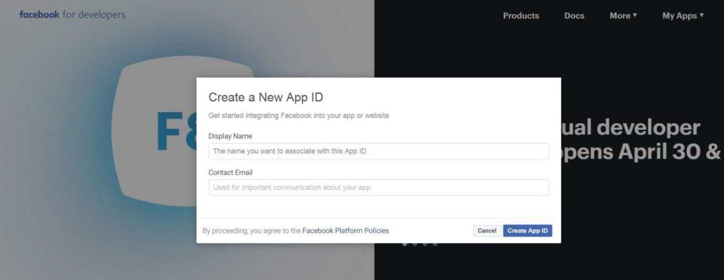 scaleyourapp.com New App create Facebook